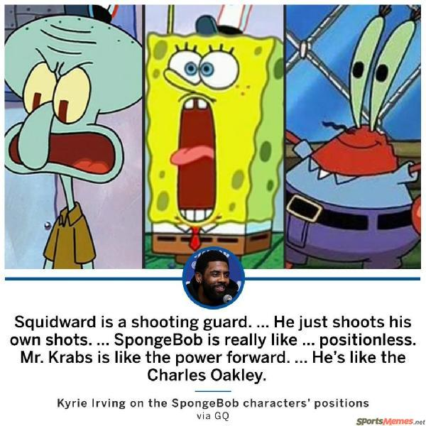 Spongebob Starting 5