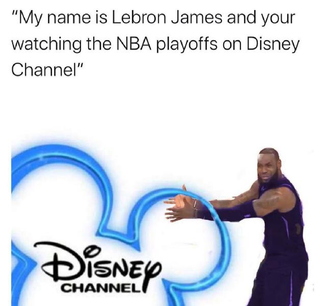 LeBron James Disney