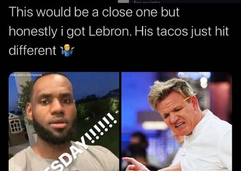 LeBron just built different