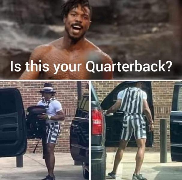 Is this your quarterback?
