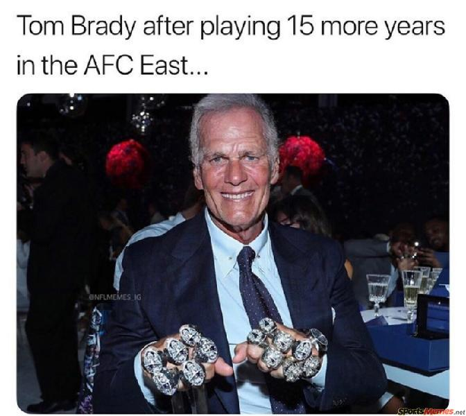 Tom Brady 15 years later