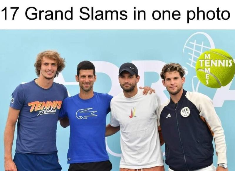 17 grand slams in one pic