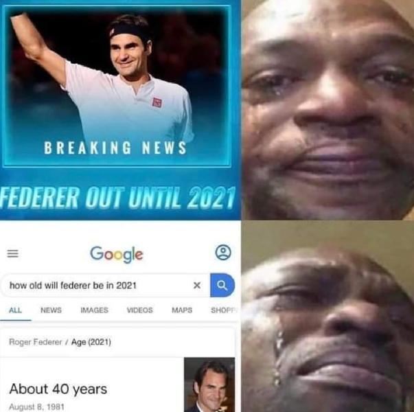 Federer in 2021