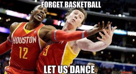 Dwight Howard dancing