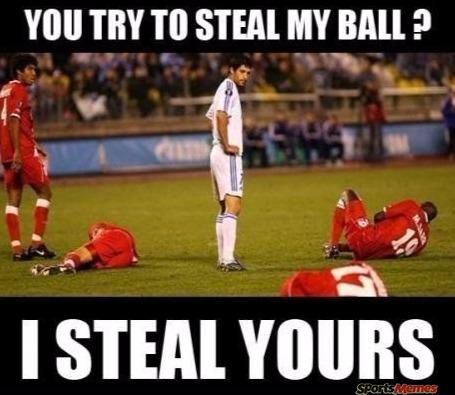 I steal your balls