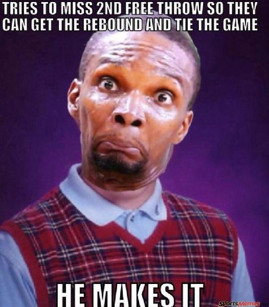 Chris bosh free throw
