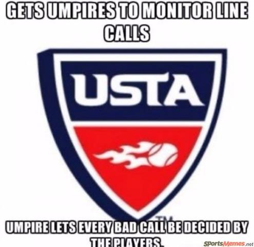 USTA line judges