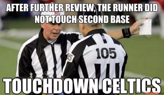 164 nfl replacement refs meme touchdown celtics nfl football memes and jokes