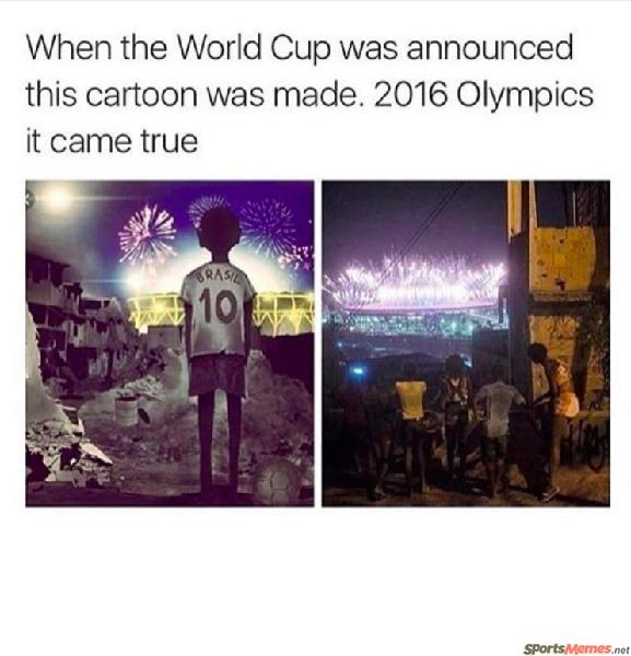 World cup and olympics