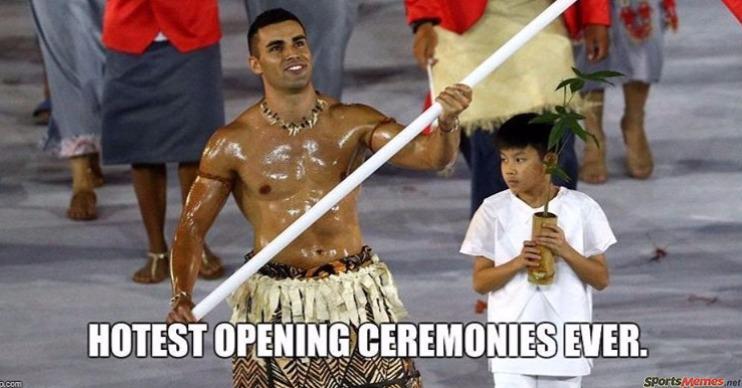 Olympics ceremony