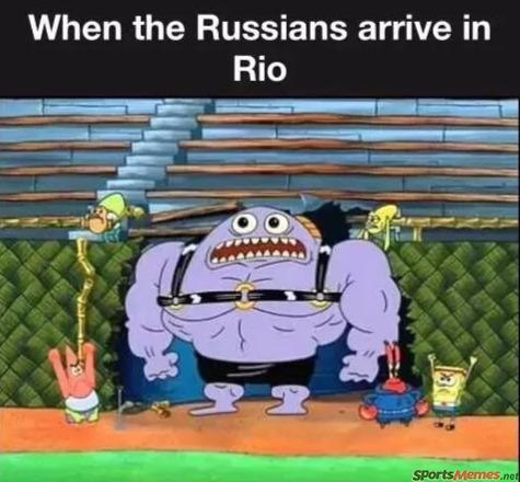 Russians in Rio