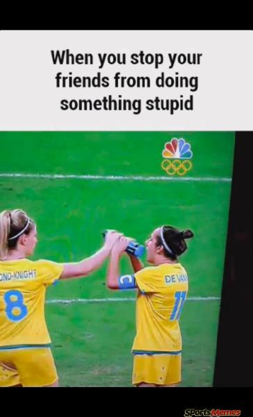 When you stop your stupid friend