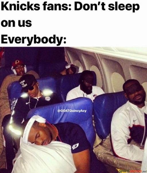 Knicks fans