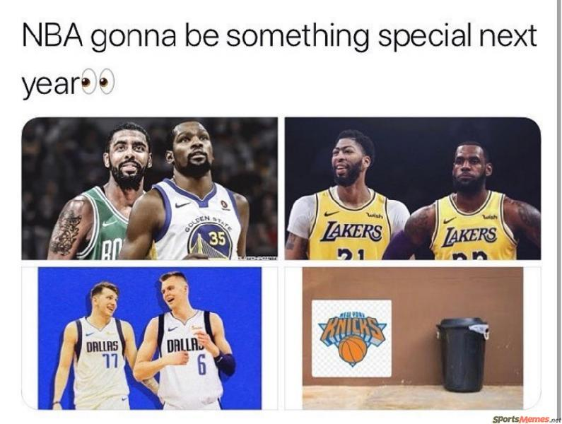NBA is gonna be special