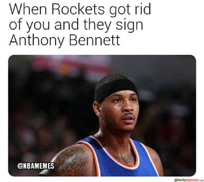 Anthony Bennet > Carmelo Anthony