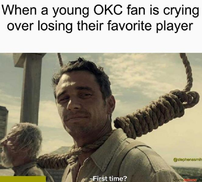 OKC losing players