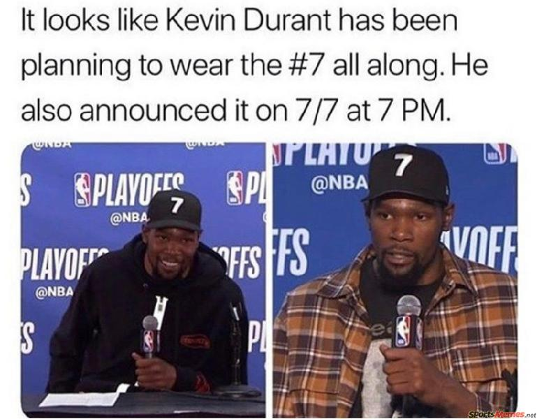 Kevin Durant #7