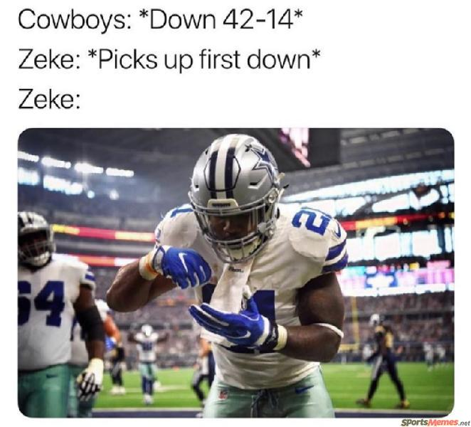 Cowboys and Zeke