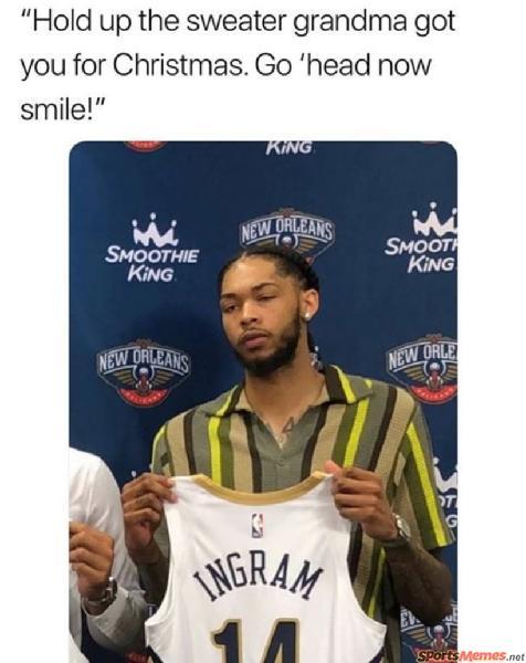 Brandon Ingram Pelicans