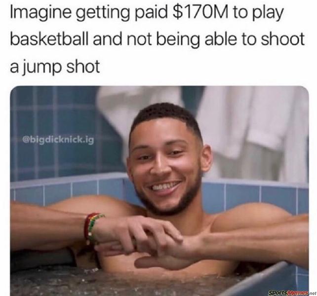 Ben Simmons can't shoot