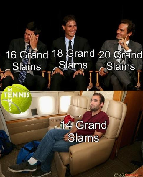 Pete Sampras left out