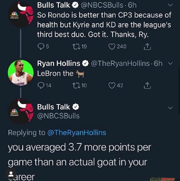 Ryan Hollins Twitter Burn