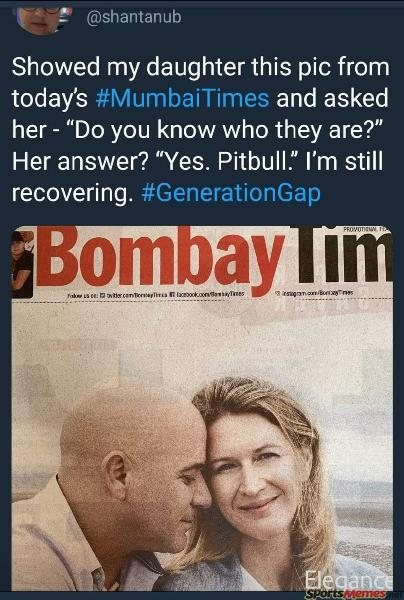 Agassi mistaken as Pitbull