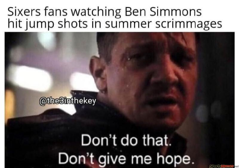 76ers fans be like