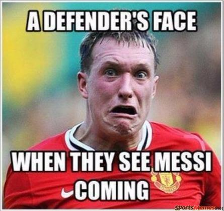 defenders scared of messi