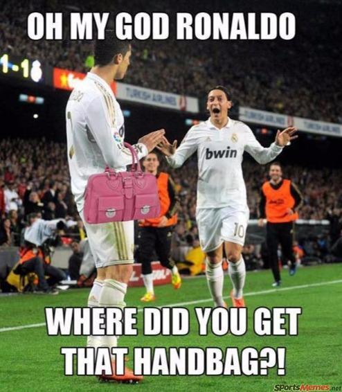 Ronaldo's handbag