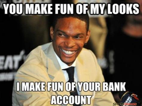 Chris bosh troll
