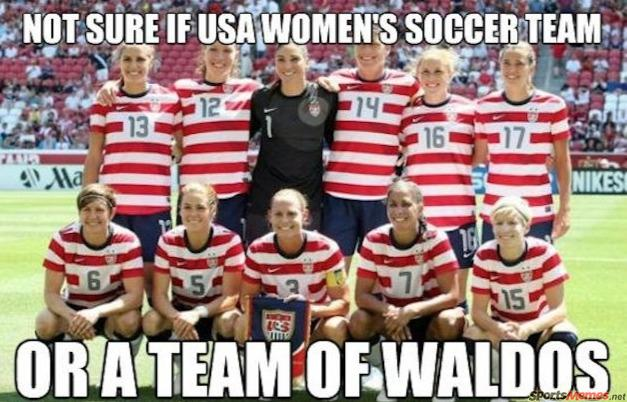USA womens soccer team