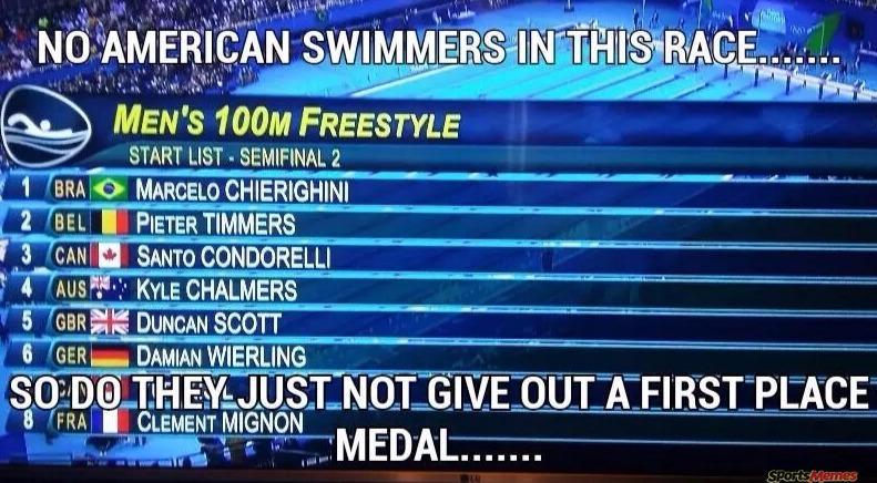 No americans