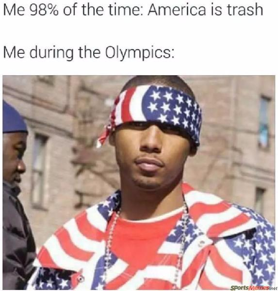 During the olympics