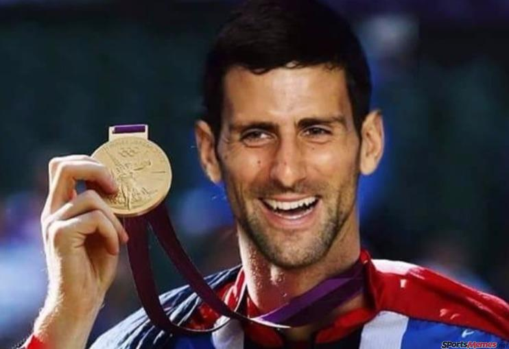 Novak wants the gold