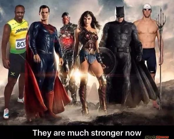 The much stronger justice league
