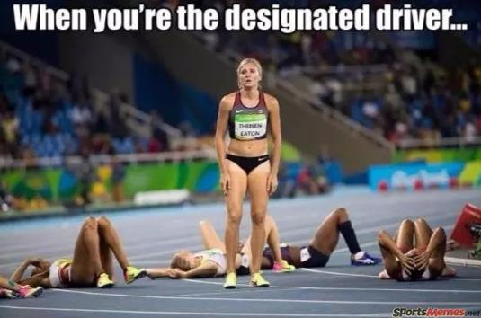 The designated driver