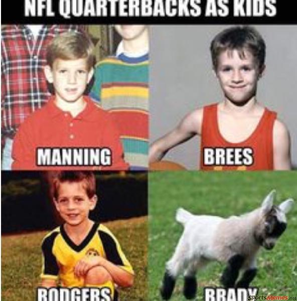 NFL Players as kids